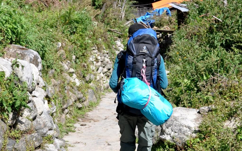 sac à dos de trek nepal