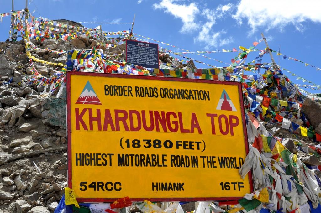 Leh, Col de Kardung La (5560m)