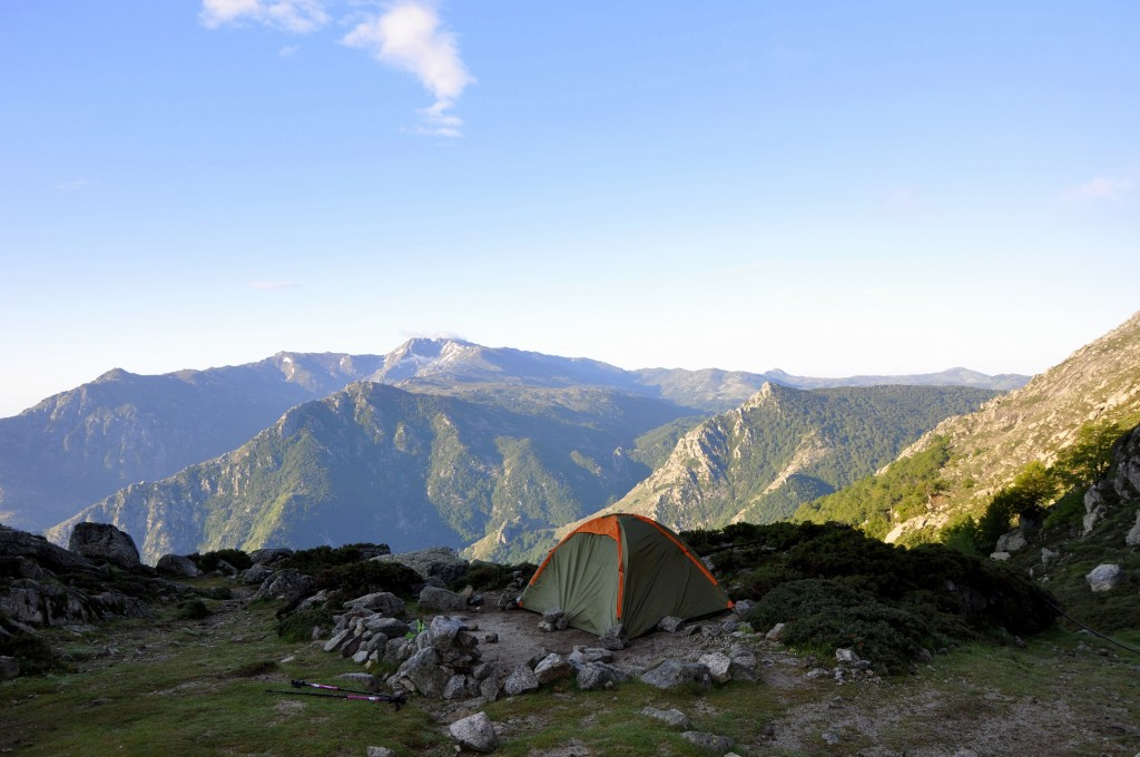 37 - Usciolu - Verde - Panorama du Bivouac