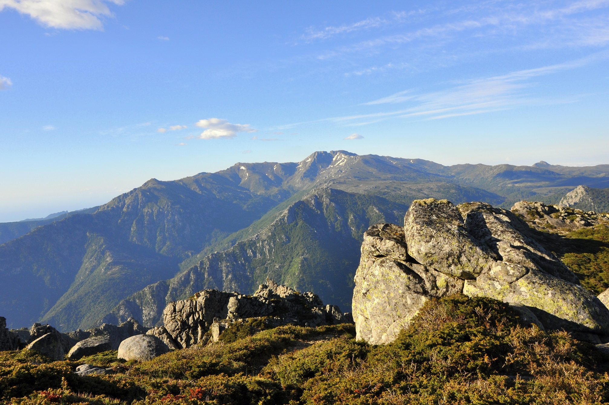 Vue Monte Incudine