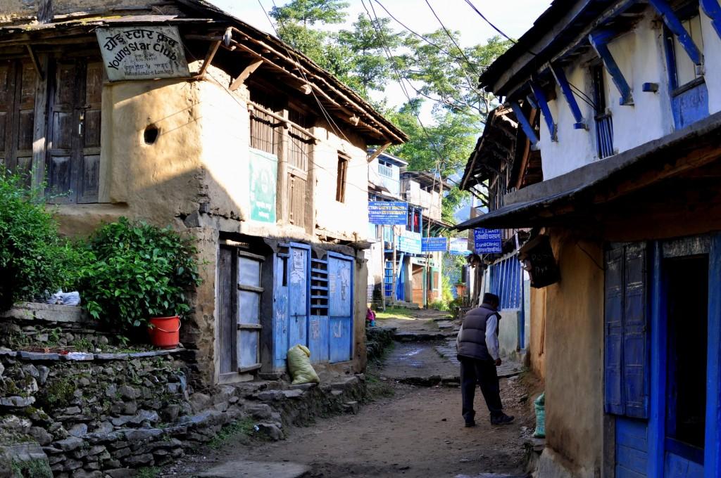 Tour nord des Annapurnas Village de Bahundanda