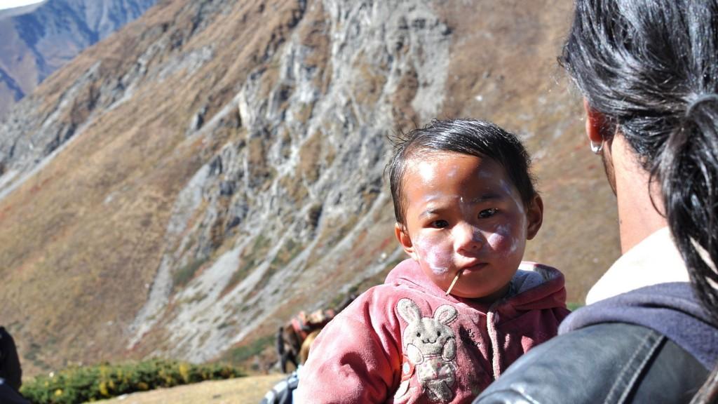 Petit nenfant népalais