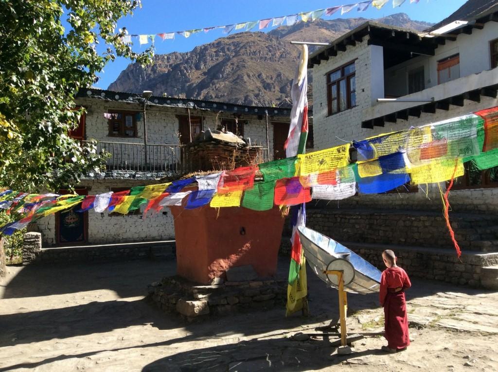 Tour nord des Annapurnas - Monastère de Muktinath