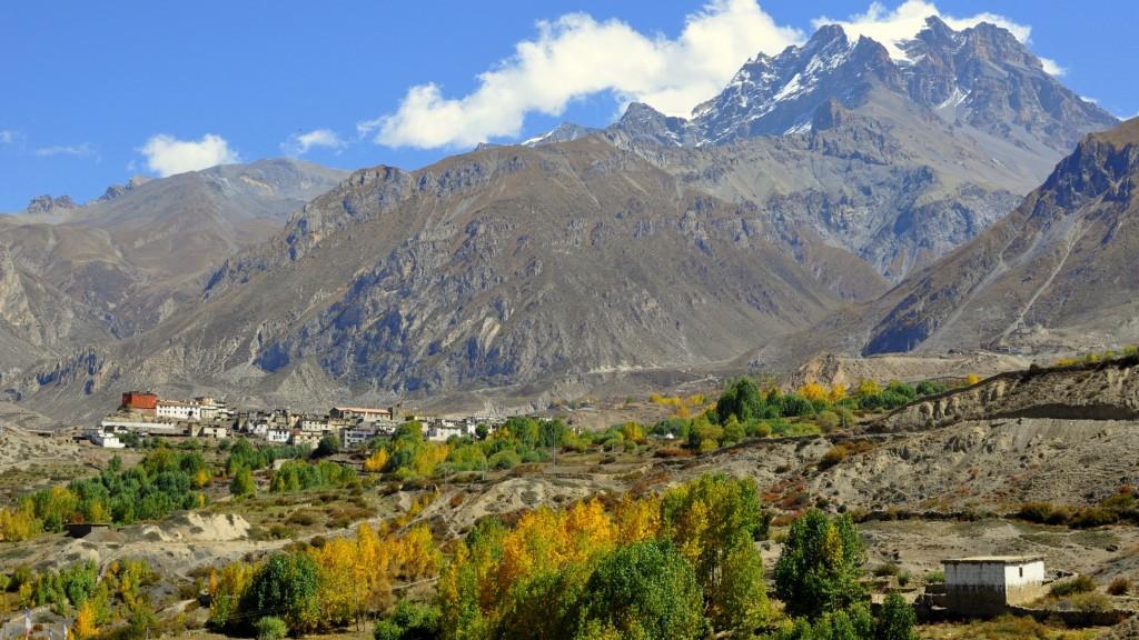 Tour nord des Annapurnas - Vallée du Mustang et village de Jharkot