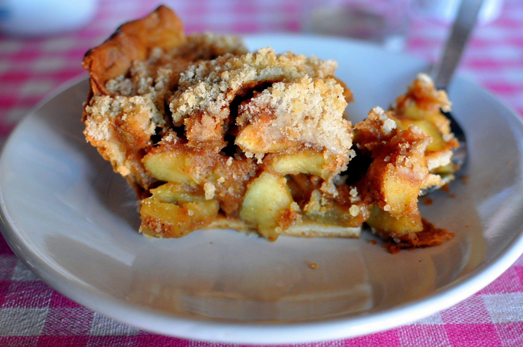 tour des Annapurnas Apple Crumble, Marpha