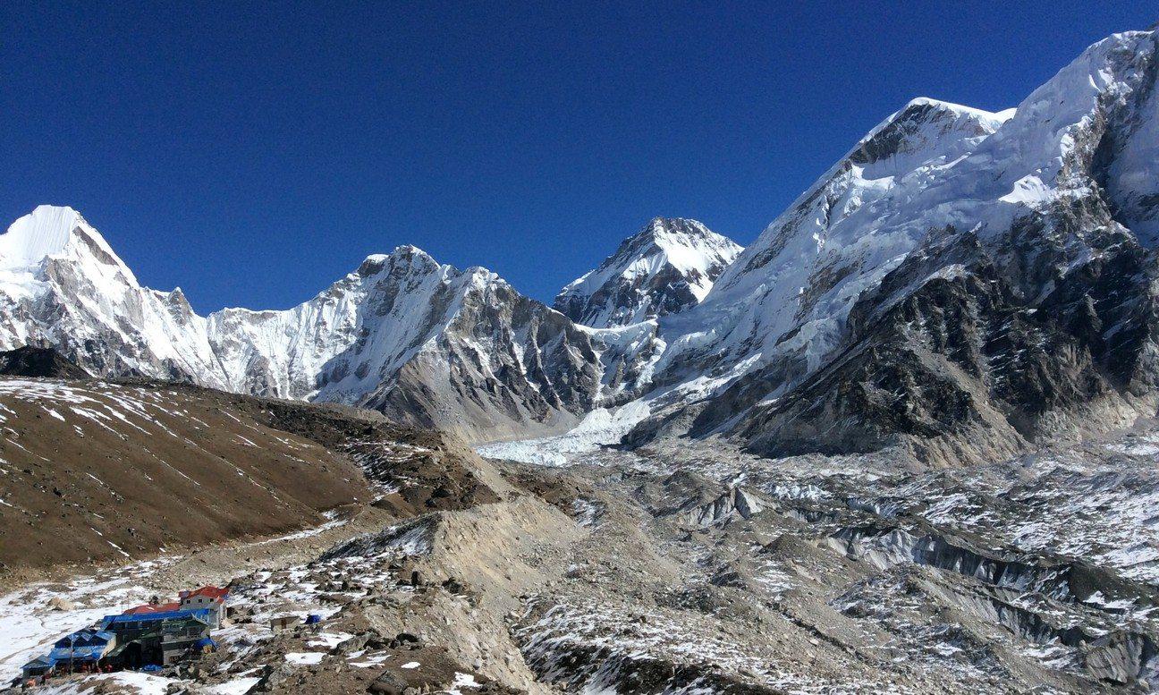 Namche Bazaar, Glacier du Khumbu, et village de Gorak Shep (5160m)