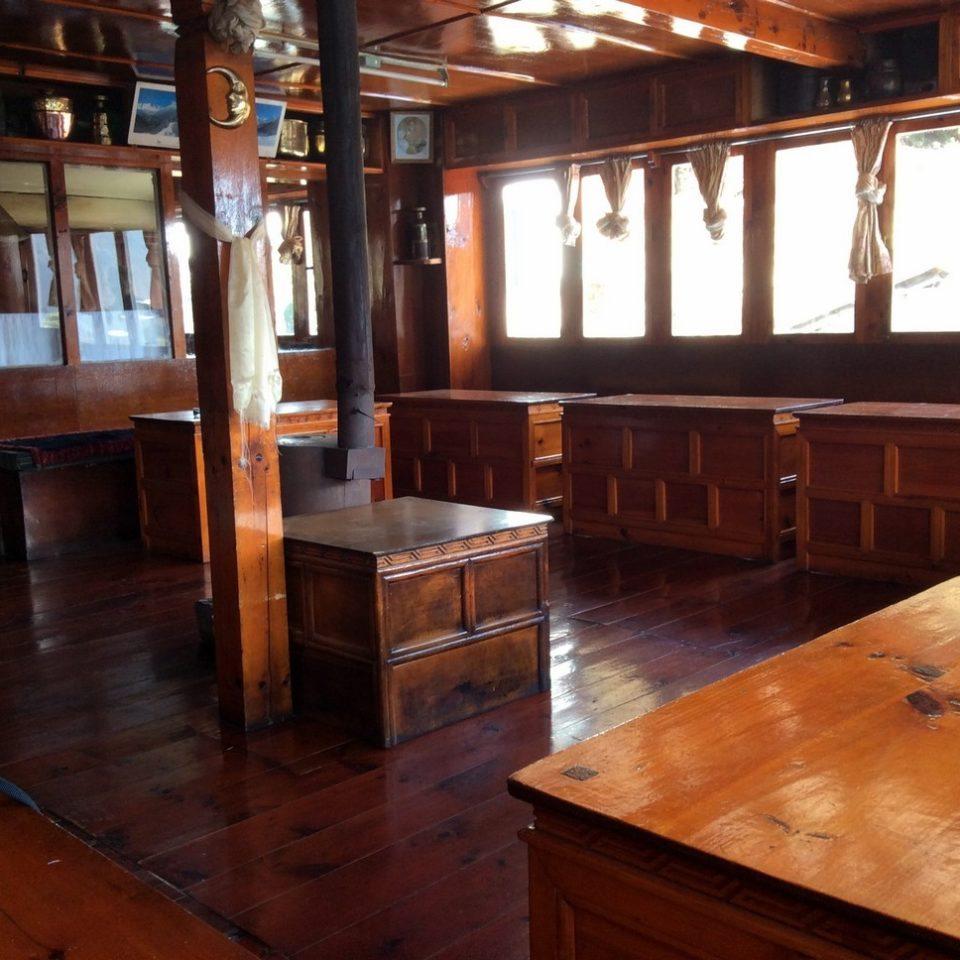Intérieur de Lodge, Namche Bazaar (3440m)