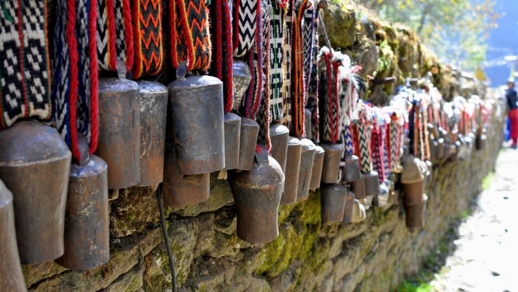 Cloches de Yak, Namche Bazaar
