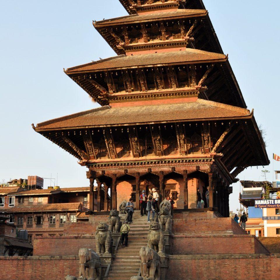 Bhaktapur, Taumadhi Tole, Temple de Nyatapola