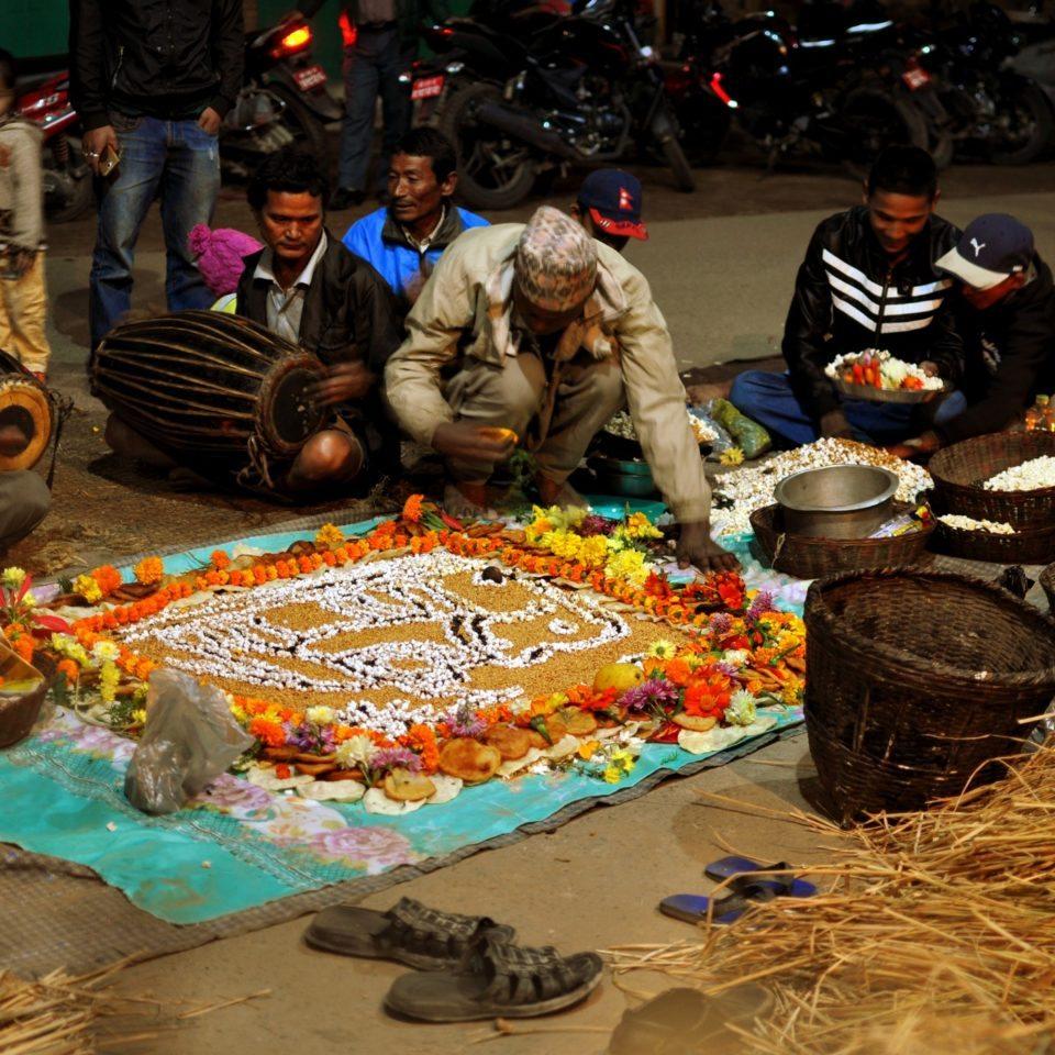 Bhaktapur, célébration de la pleine lune