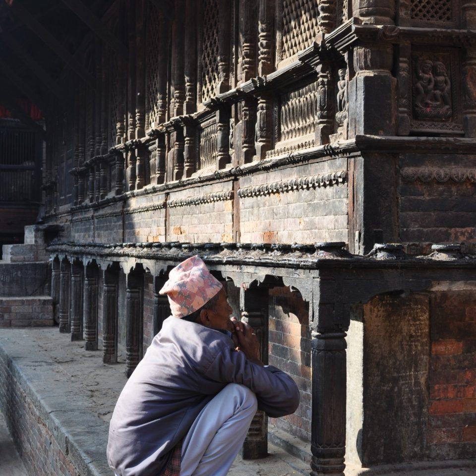 Bhaktapur, temple de Temple de la Dattatreya