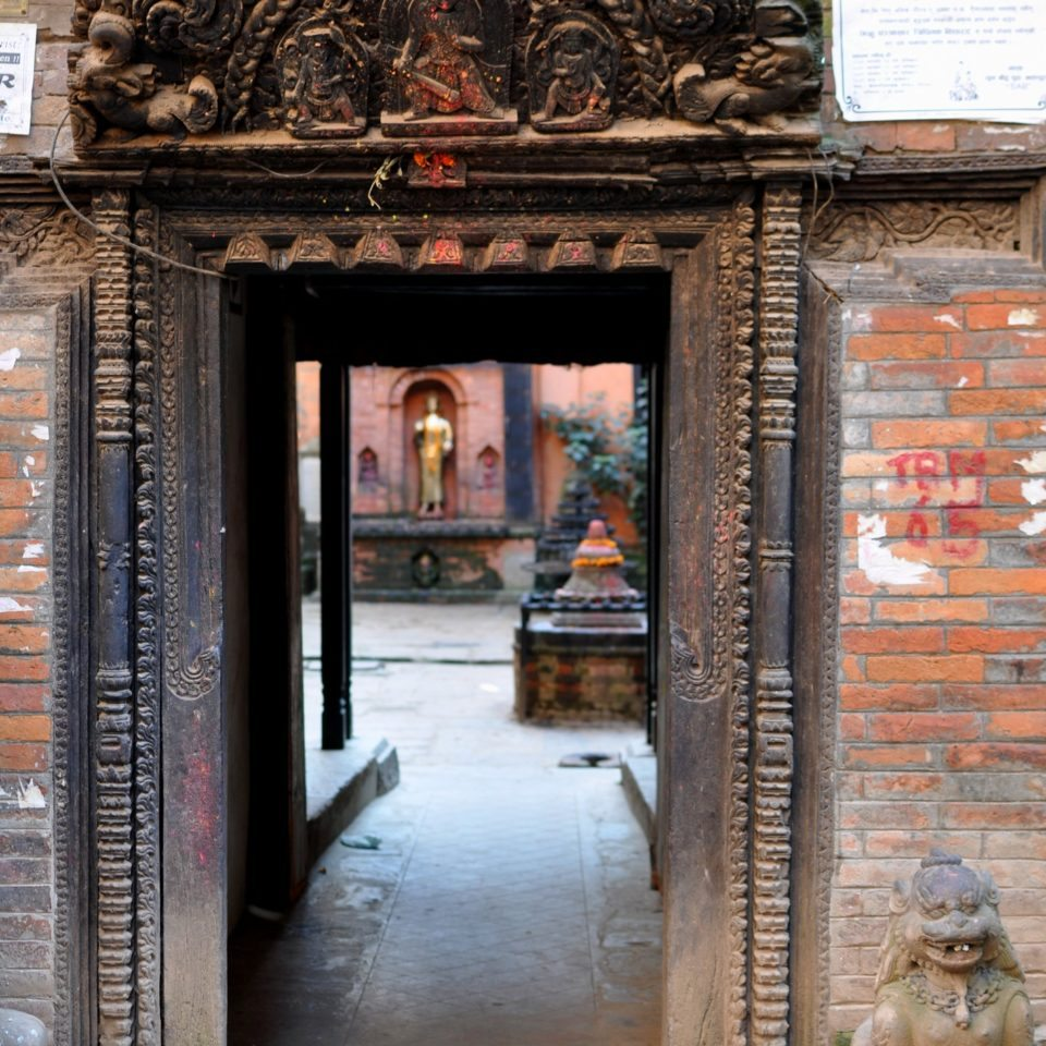 Bhaktapur, Temple de Brahmayani