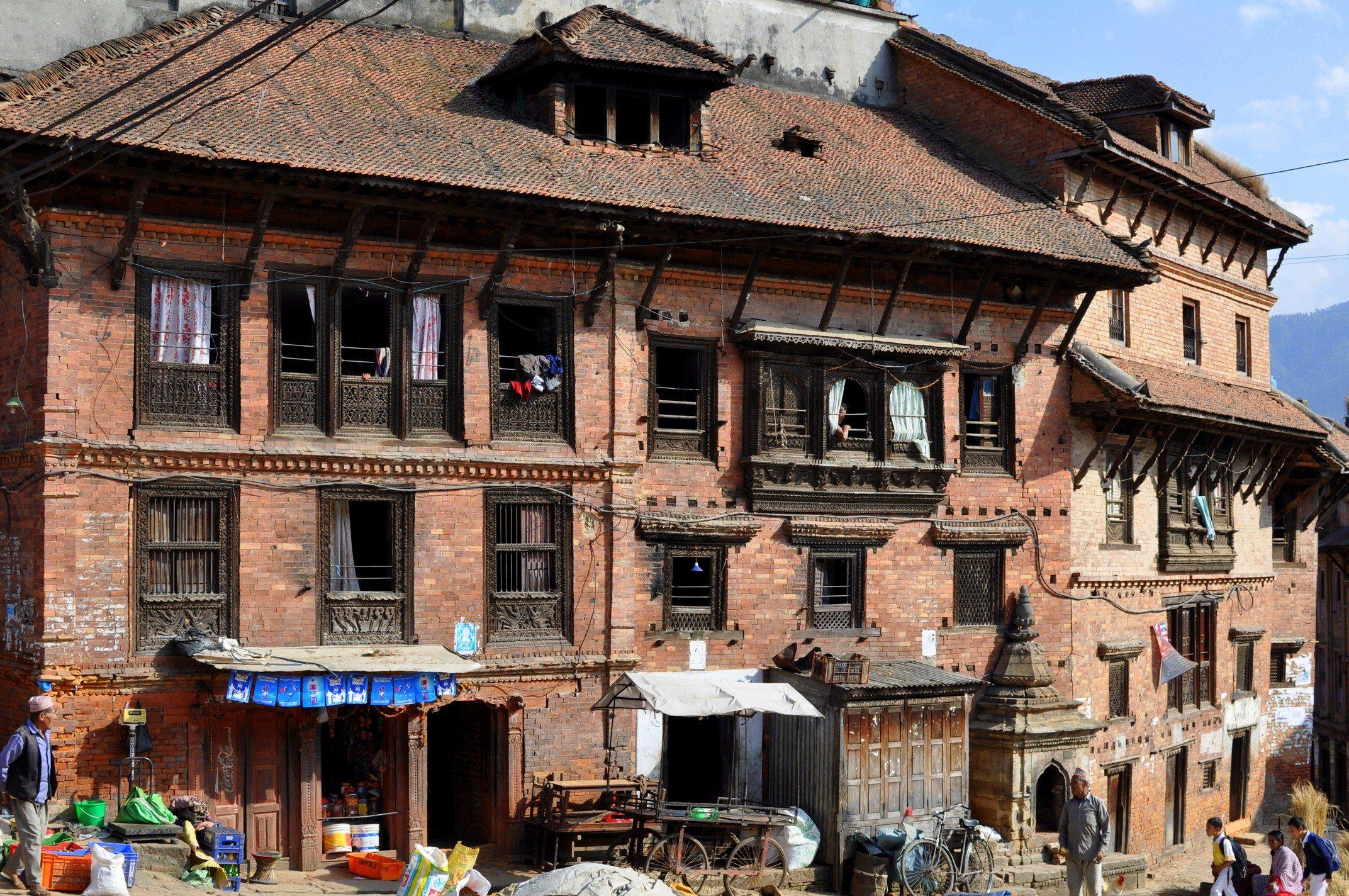 Vallée de Katmandou - Bhaktapur, rue
