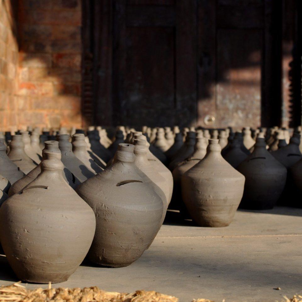 Bhaktapur, poteries