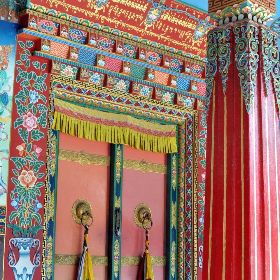 Bodnath, Pal Dilyak Gompa, entrée