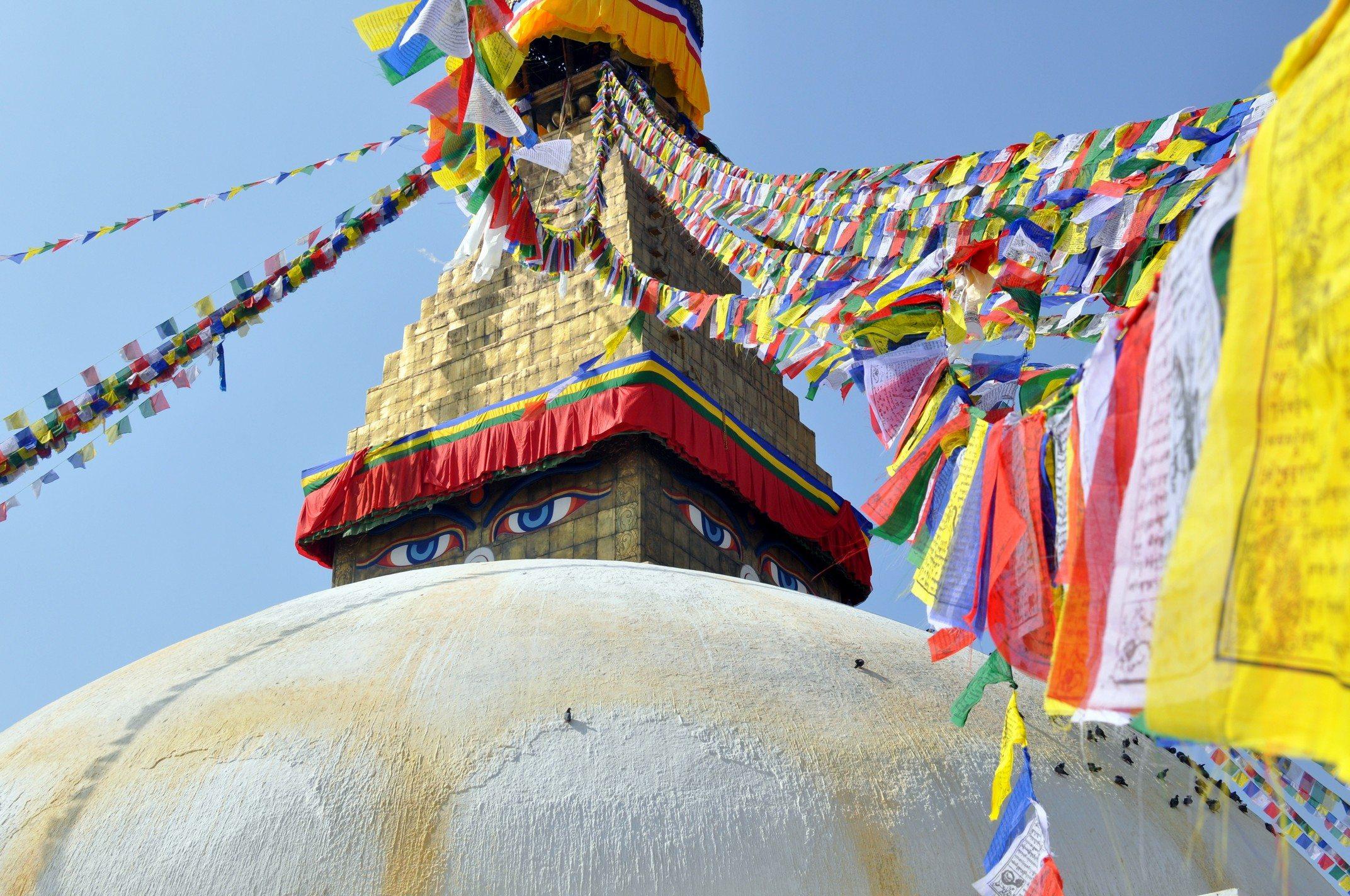 Vallée de Katmandou - Stupa de Bodnath