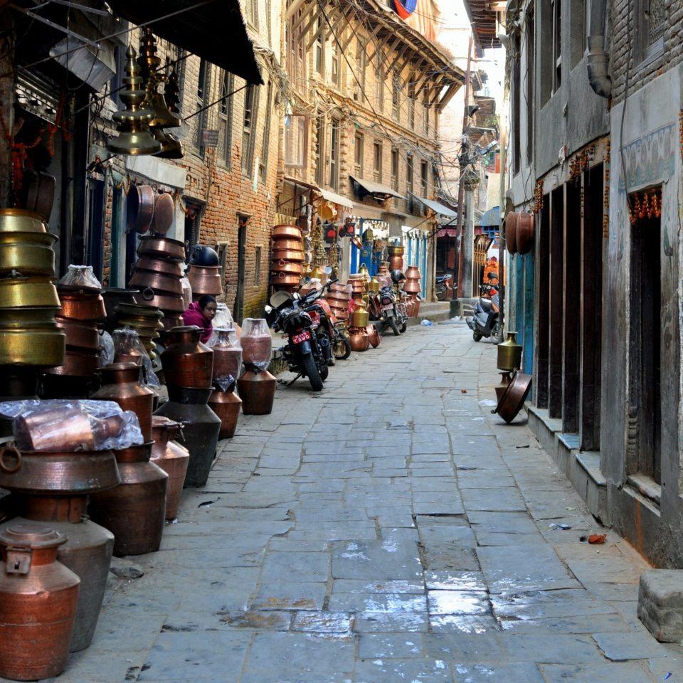 Patan, rue des cuivres et bronzes