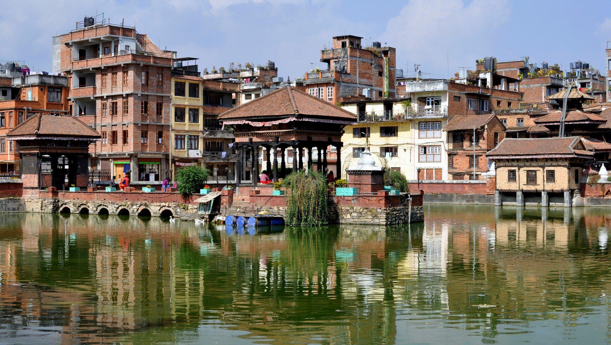 Vallée de Katmandou - Patan, bassin