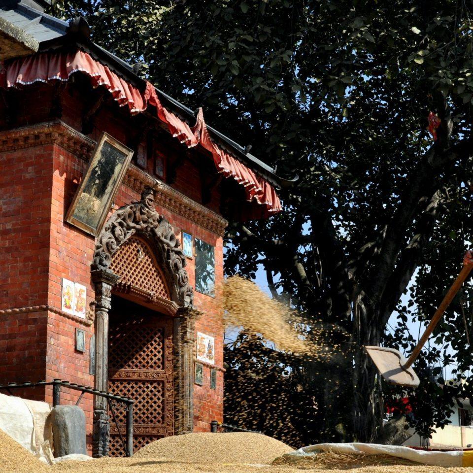 Bhaktapur, vers le quartier des potiers