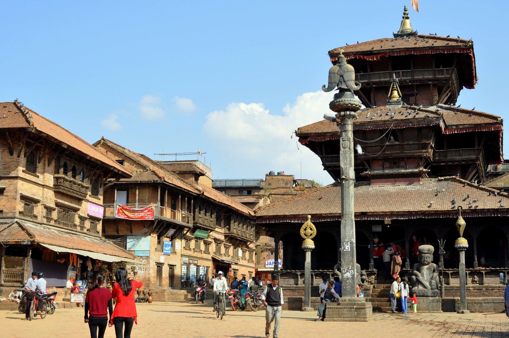 Vallée de Katmandou - Bhaktapur, Tachupal Tole
