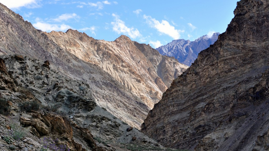 Vallée de la Markha - Descente vers Skiu (3350m)