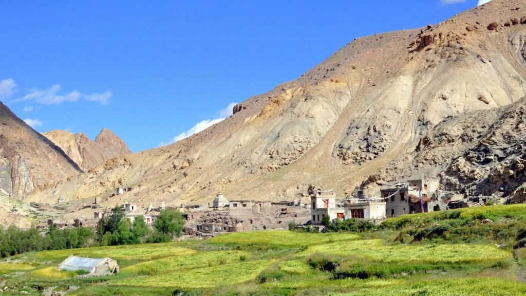 Vallée de la Markha - Village de Tchachungtse (4150m)