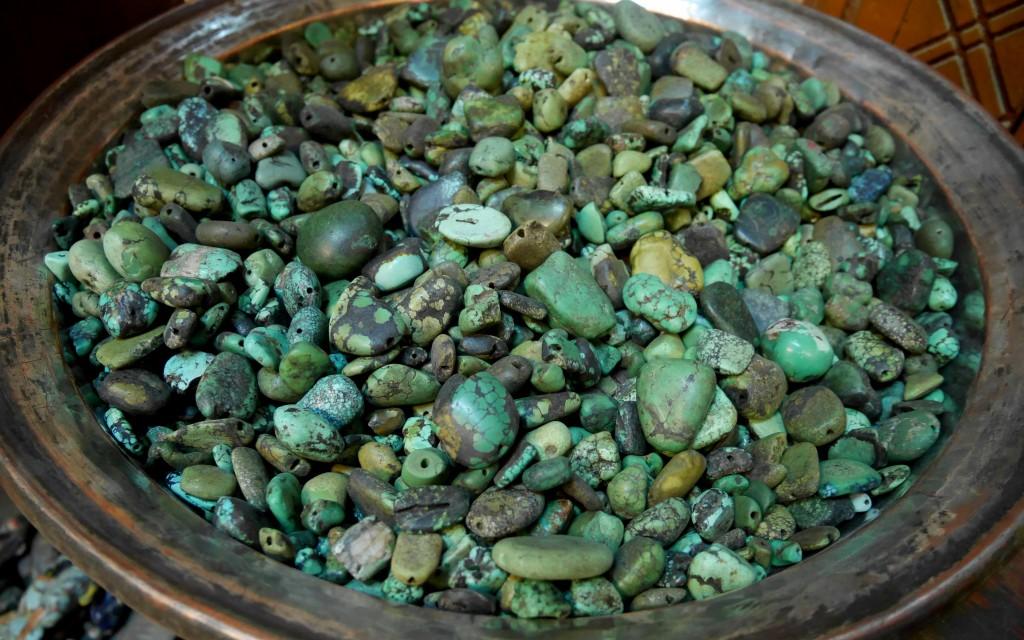 Leh, Turquoises anciennes