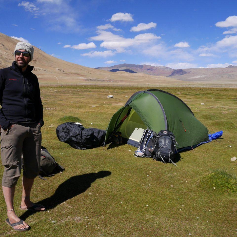 Camp de Pangunagu, 4580m