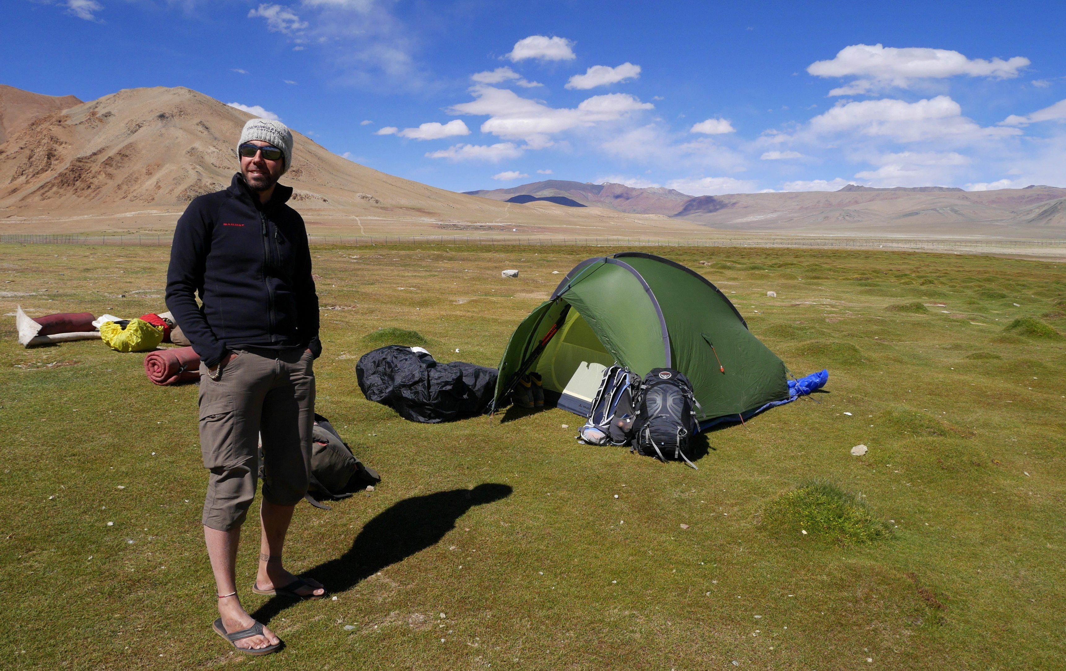 Changtang, Camp de Pangunagu, 4580m
