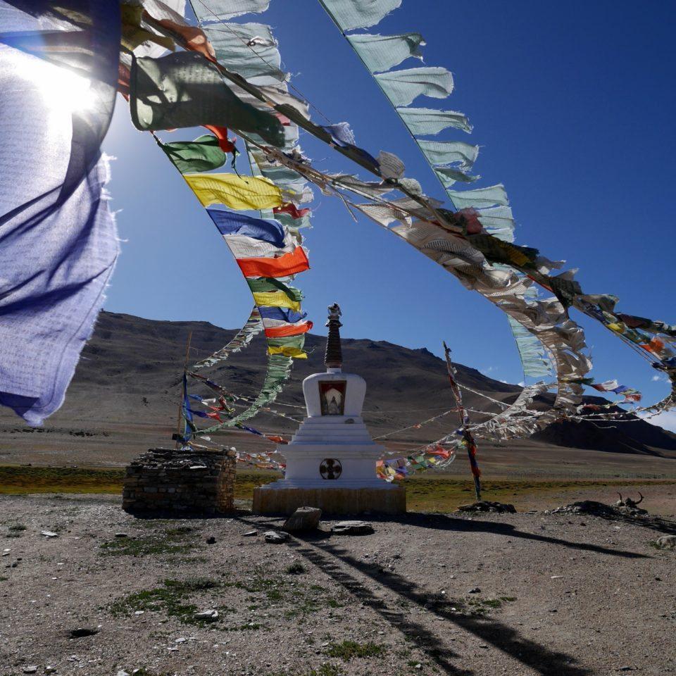 Chorten, Lac Tso Kar, 4500m