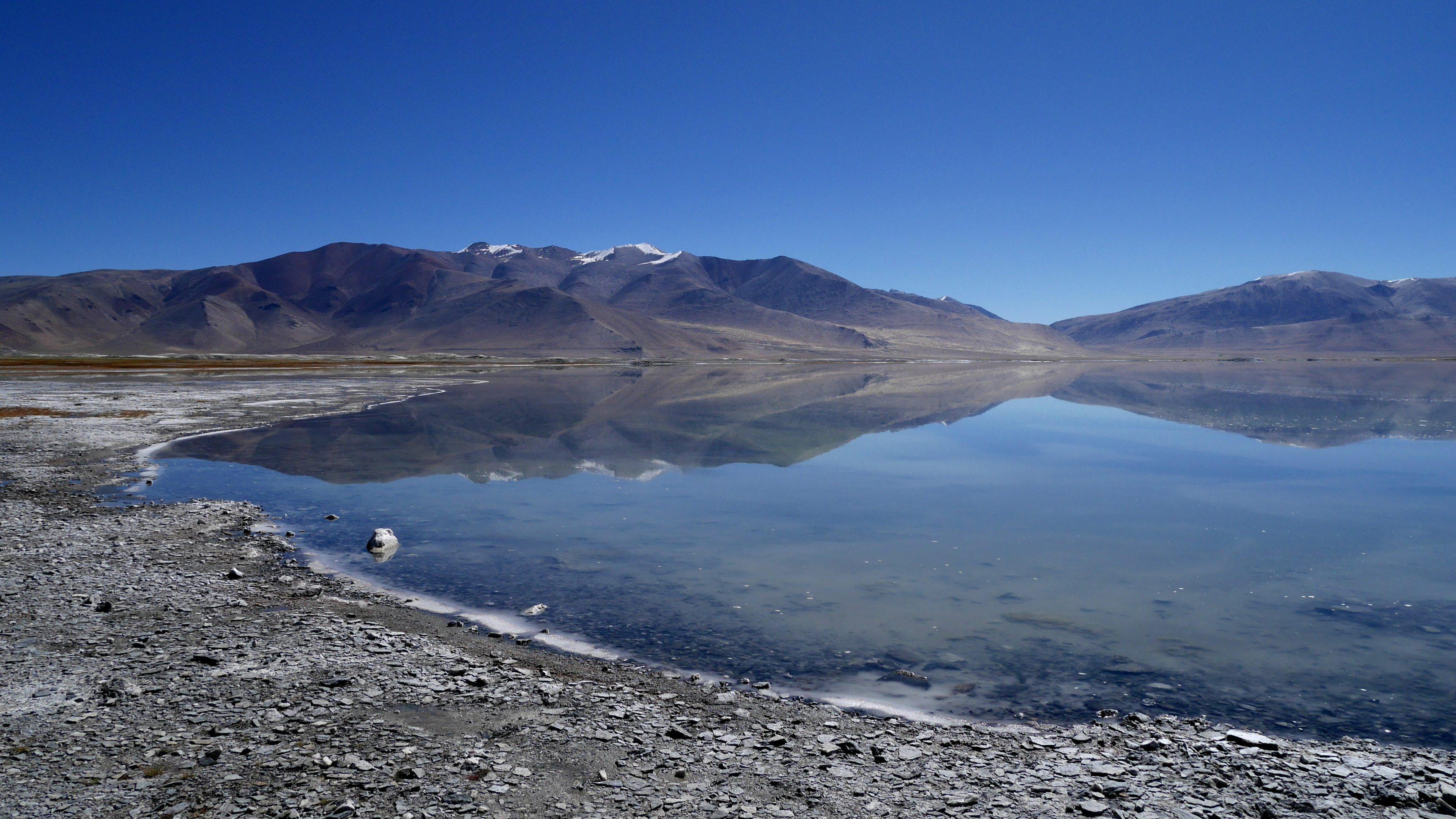 Changtang, Lac Tso Kar, 4500m