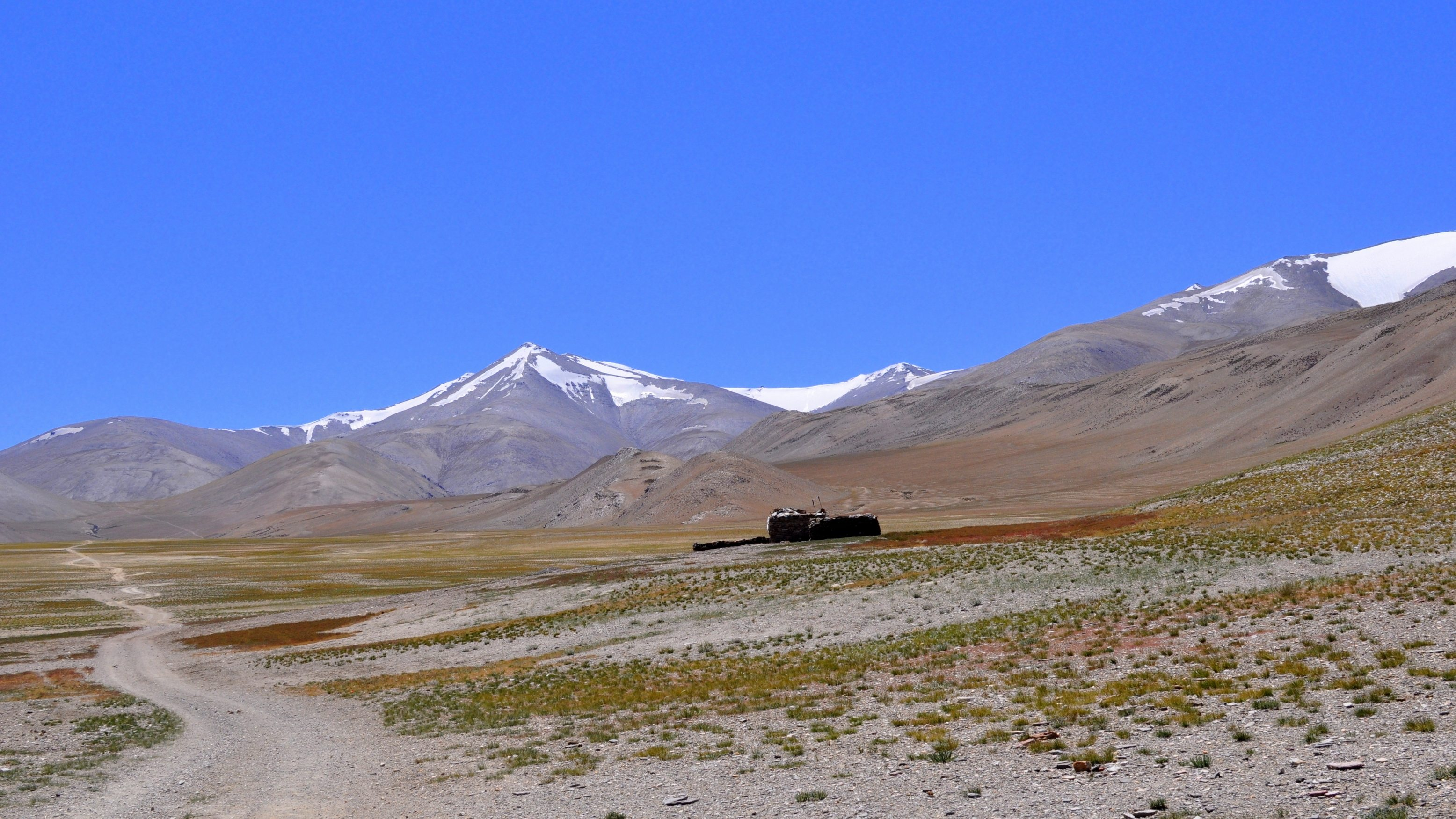 Changtang, Sentier vers Nuruchan (4570m)