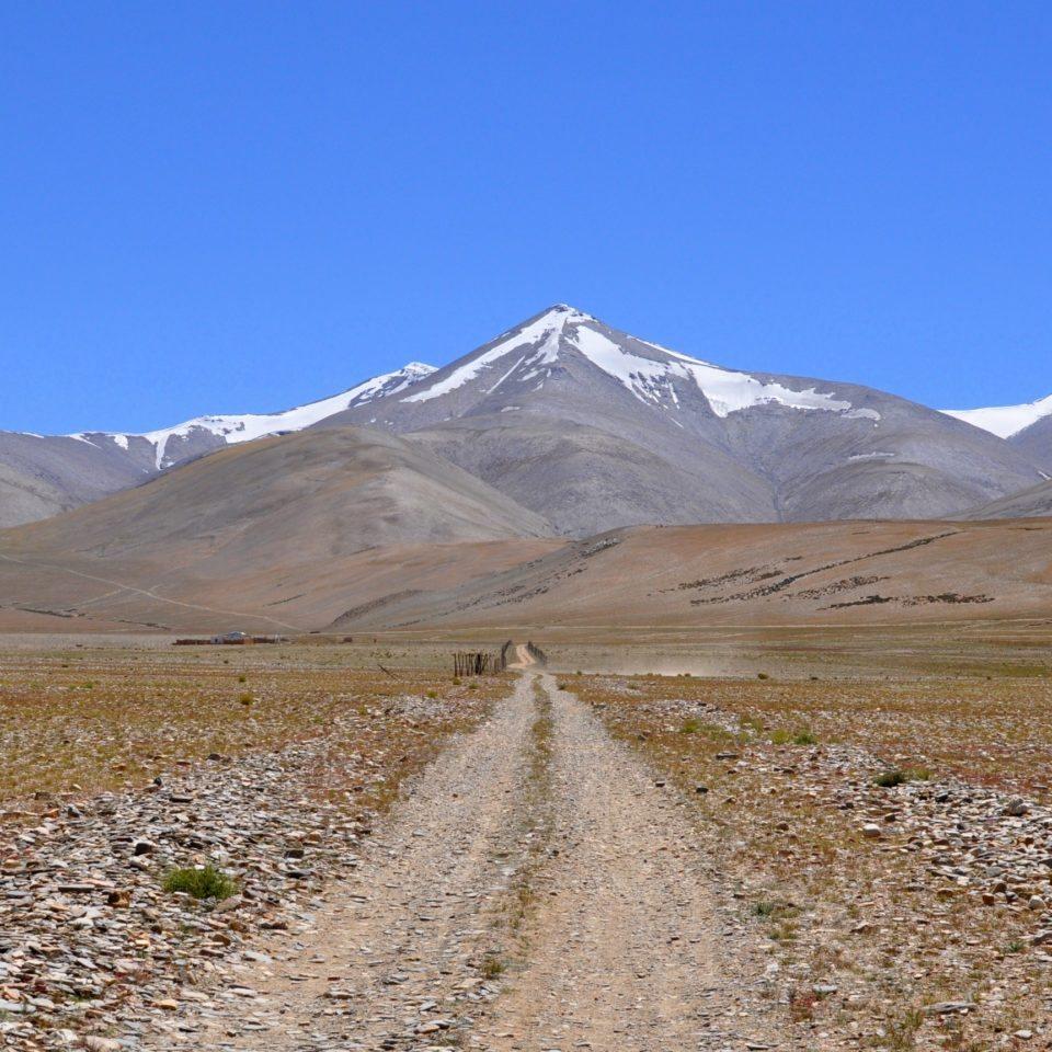 Sentier vers Nuruchan (4570m)