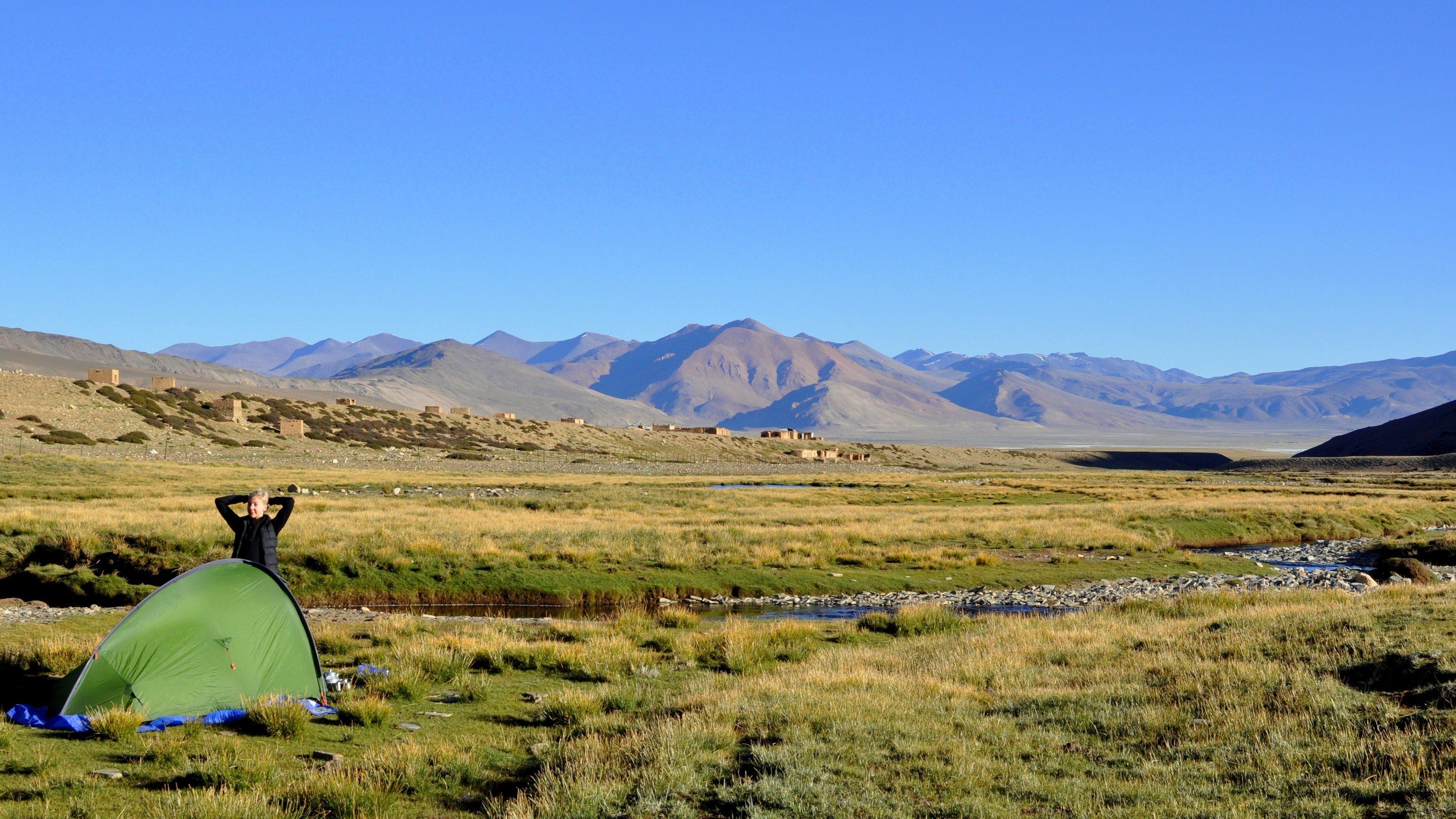 Camp de Nuruchan (4570m)