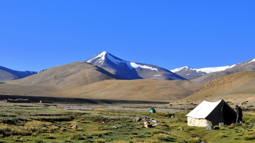 Changtang, Camp de Nuruchan (4570m)
