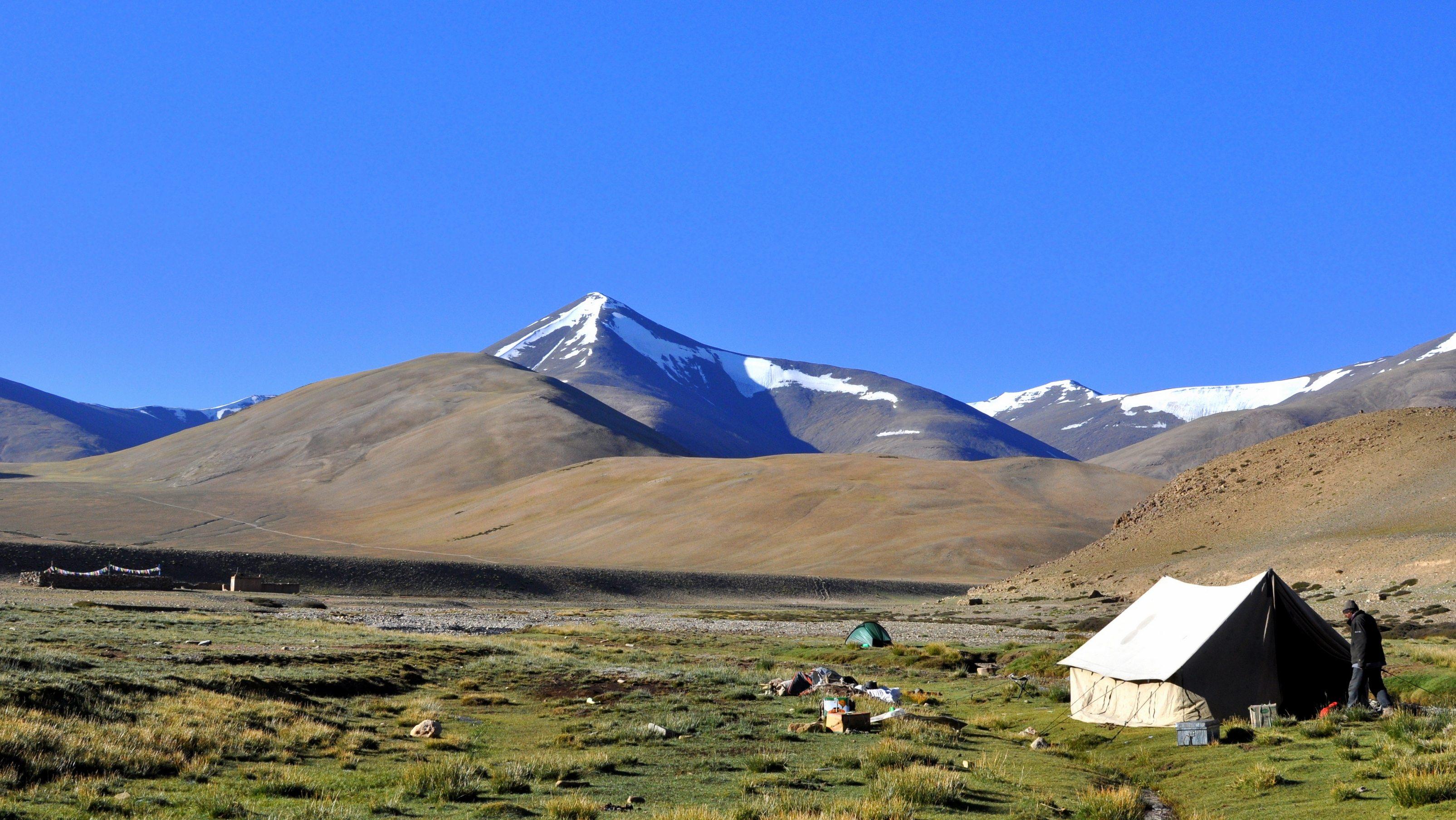 Changtang, Camp de Nuruchan (4570m)