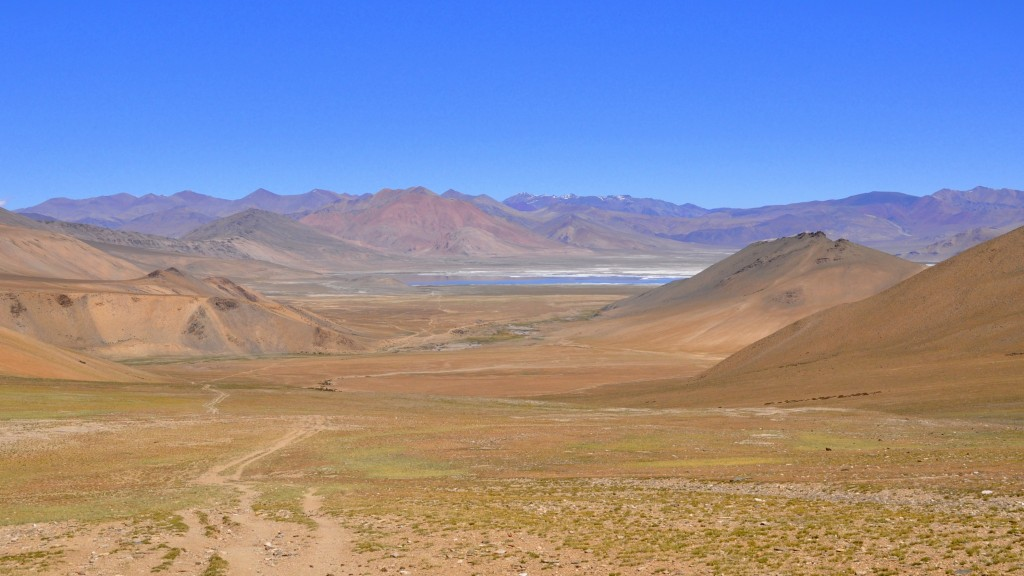 Changtang, Vers le col de Harlam La (4900m)
