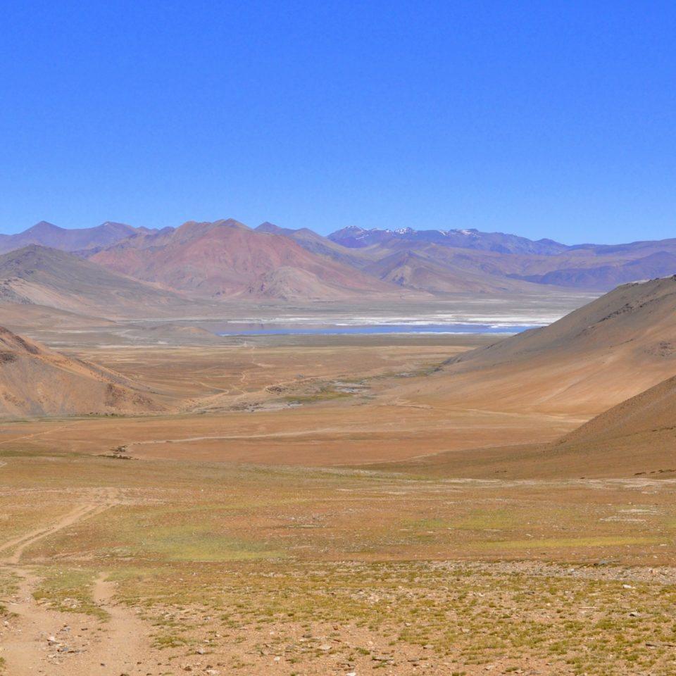 Vers le col de Harlam La (4900m)