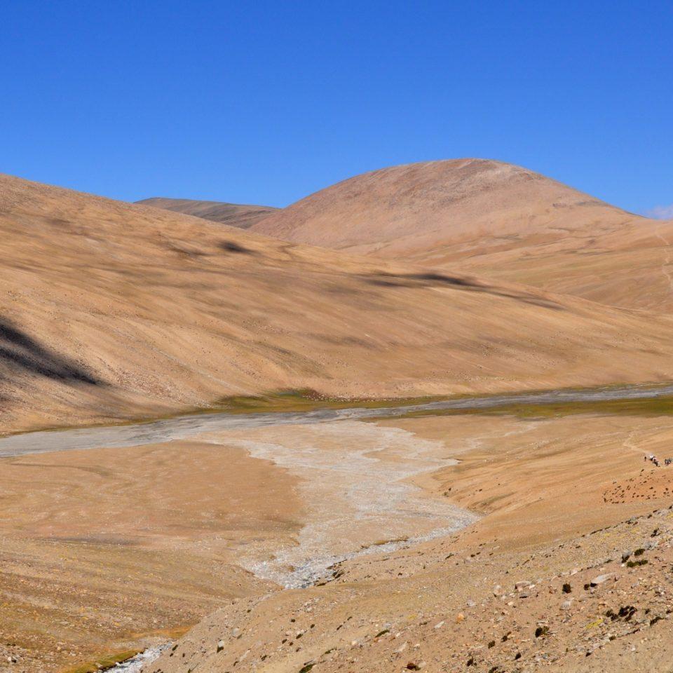 Vers le col de Yalung Karpo La (5430m)