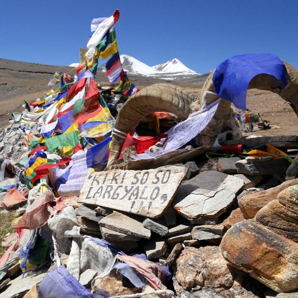 Col de Yalung Karpo La (5430m)