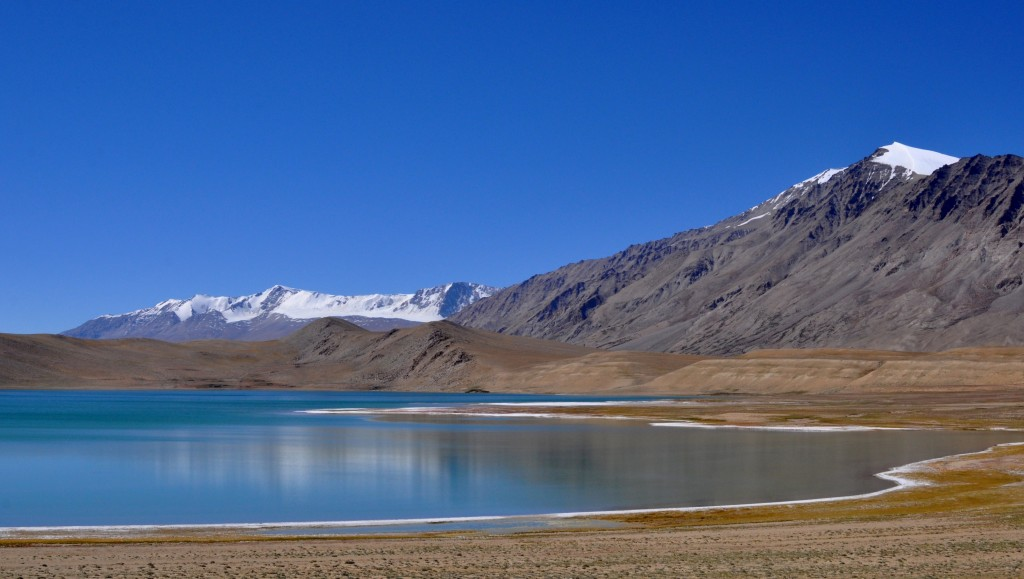 Changtang, Vue sur le lac Kyagar Tso (4500m)