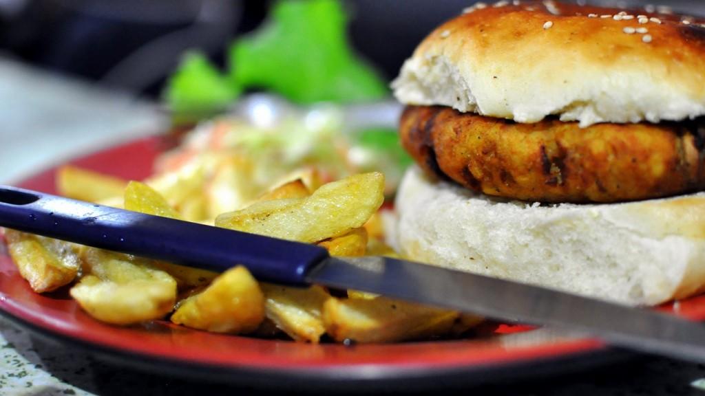 manger_veggie burger