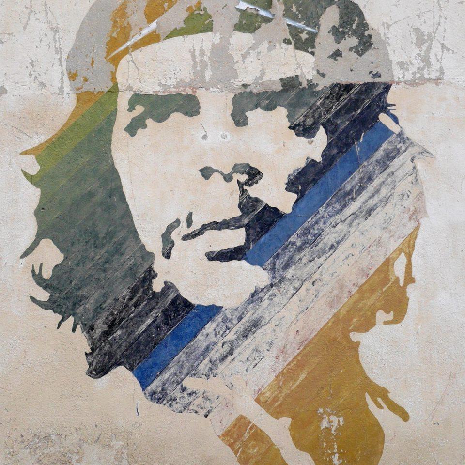 Portrait du Che, La Havane