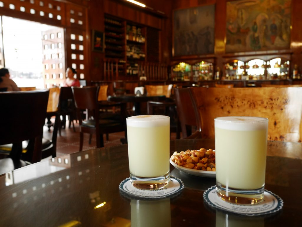 Pisco sour, Hotel Maury