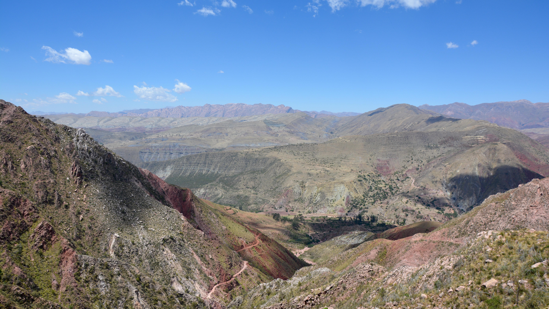 Cratère de Maragua camino inca