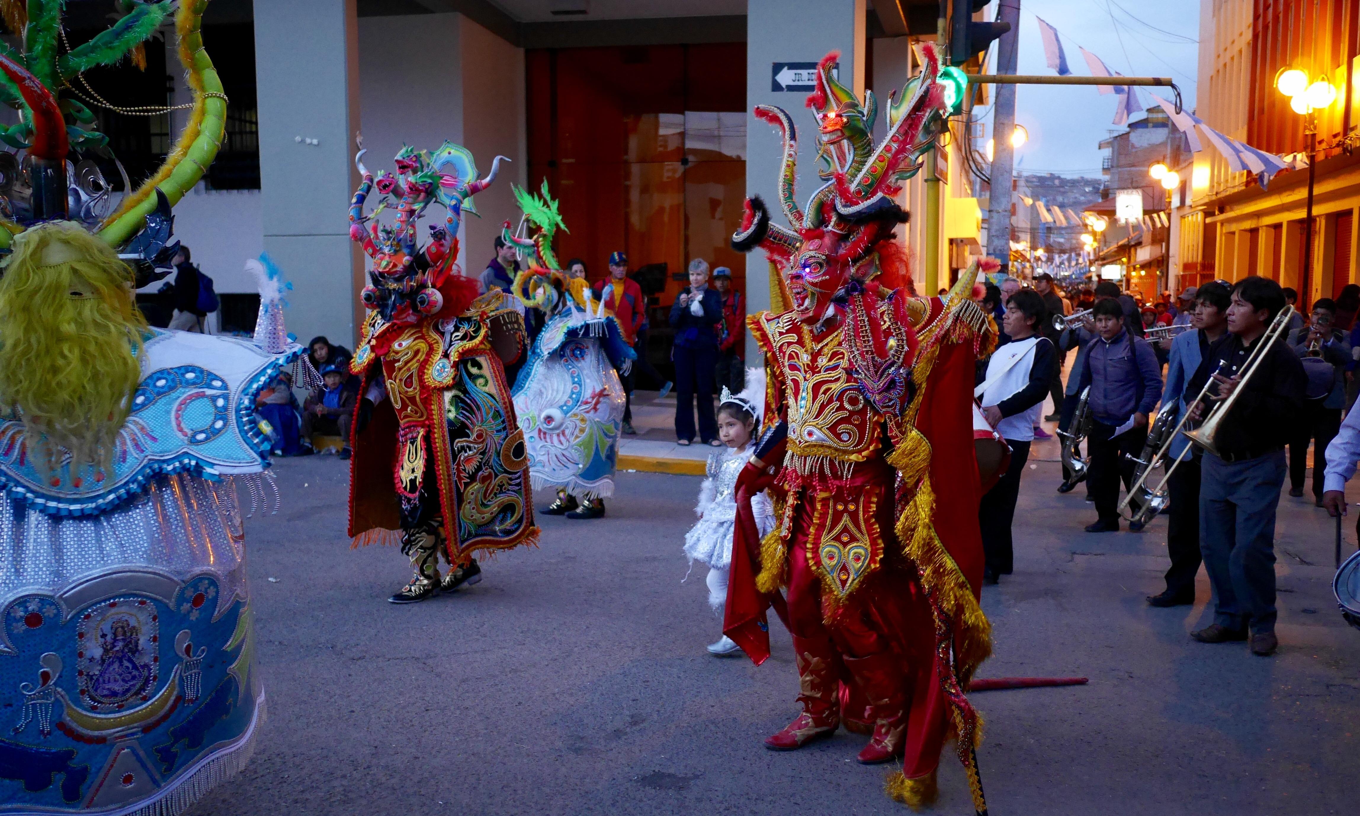 Puno fiesta carnaval