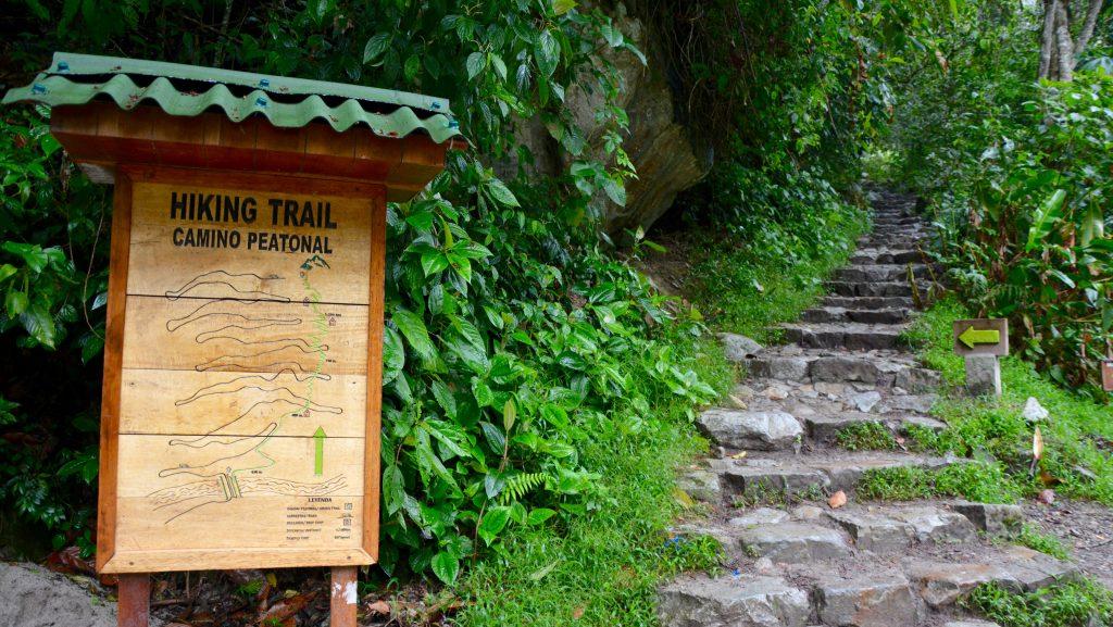 hiking trail, macchu pichu