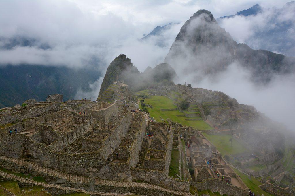 Le Macchu Pichu, depuis le mirador