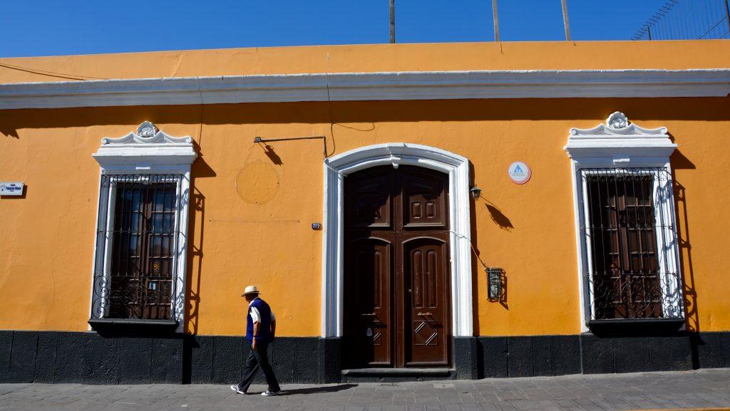 Arequipa, Calle Palacia Viejo