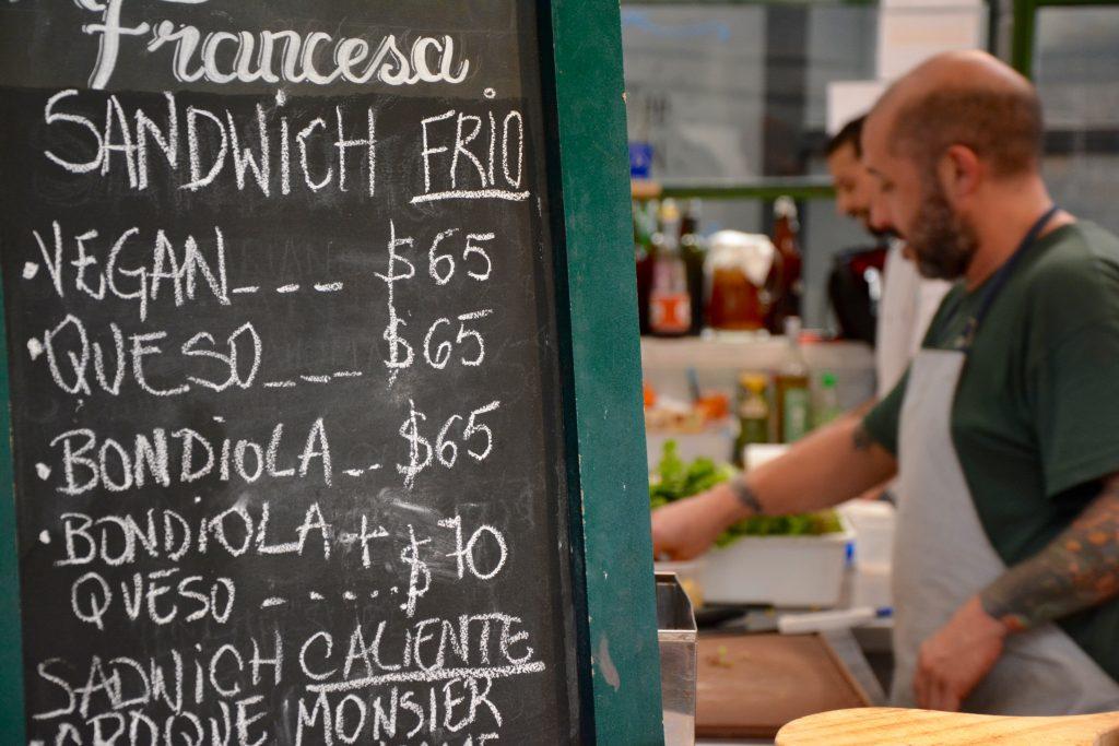 Panaderia Francesa, Mercado San Telmo, Buenos Aires
